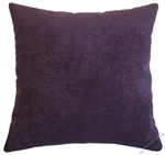 purple velvet decorative throw pillow cover