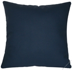navy blue solid decorative throw pillow cover