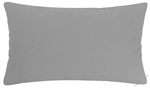 storm gray solid decorative throw pillow cover