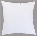 white solid decorative throw pillow cover