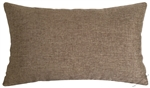 tan brown cosmo linen decorative throw pillow cover