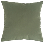 sage green velvet suede decorative throw pillow cover
