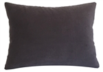 plum velvet suede decorative throw pillow cover