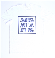 Transform Your Life With God Fashion Comic Tee