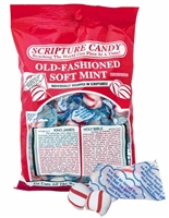 Old-Fashioned Soft Mint Inspirational Candy