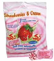 Strawberries & Cream Inspirational Candy