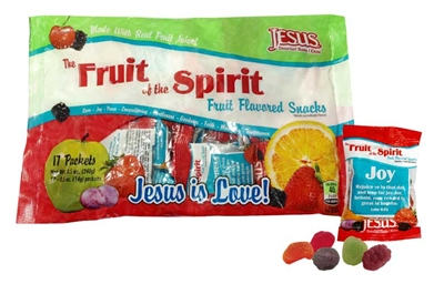Fruit of the Spirit Inspirational Fruit Snacks