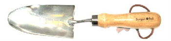 Stainless Steel Transplanting Trowel by Burgon & Ball