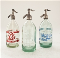 Graphic Collection III Vintage Seltzer Bottles