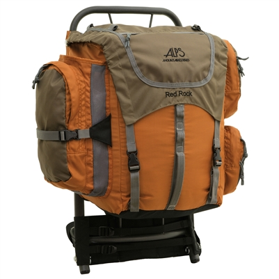 Alps Mountaineering Red Rock Rust Backpack