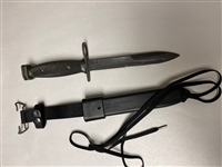 NEW ITEM, RARE! UNITED ARAB EMIRATES BAYONET WITH M10 SCABBARD