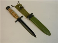 NEW ITEM ! M4 WWII BAYONET WITH M8A1 SCABBARD