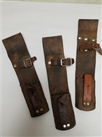 1943 TRENCH KNIFE WITH M6 LEATHER SCABBARD