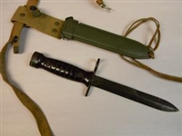 NEW ITEM ! ITALIAN PARATROOPER BM59 BAYONET WITH SCABBARD