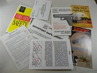 GLOCK FACTORY USER MANUAL. NEW IN SEALD PACKAGE