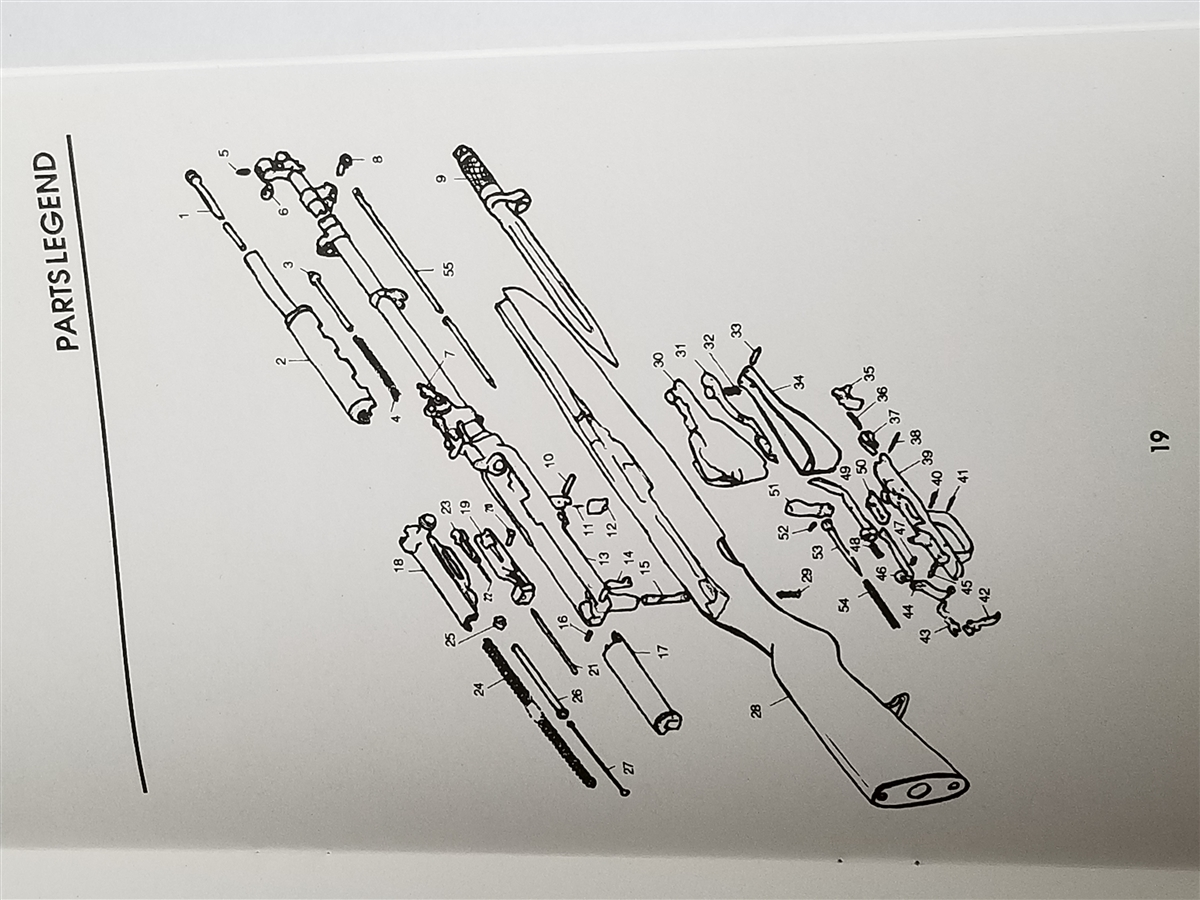 Sks Rifle Parts Diagram Safety Schematic Diagrams Semi Automatic Disassembly And Reassembly Manual Gun