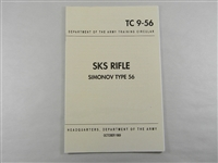 SKS RIFLE SIMONOV TYPE 56 BOOKLET