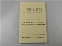 SPRINGFIELD 1903, 1903A1, A3, A4 ORDNANCE MAINTENANCE MANUAL