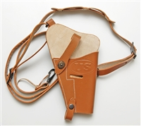 M7 SHOULDER HOLSTER FOR COLT 45 PISTOL. BROWN OR BLACK COLOR