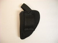 BLACK CORDURAS HOLSTER FOR REVOLVER 2""