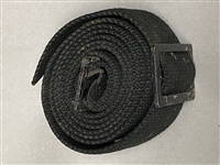 "US GI BLACK NYLON ""SILENT"" SLING NEW"