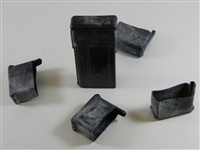 M1 CARBINE MAGAZINE RUBBER DUST COVERS . SET OF 5 PIECES