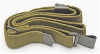 RARE! DANISH ARMY M1 GARAND EARLY TYPE SLING FLAT BUCKLE