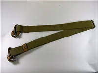 RUSSIAN MOISIN NAGANT OD CANVAS SLING WITH LEATHER LOOPS