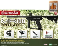 Kingman Spyder MR100 Pro Players Pack Paintball Marker Kit