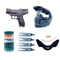 Kingman Training Chaser Players Pack .43 Paintball Pistol Kit