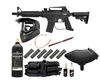 US Army Alpha Black Elite Paintball Gun MEGA Set