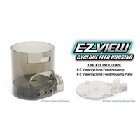 TechT E-Z View Clear Cyclone Feed Housing