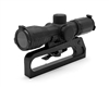 M16 Sight Rail and 4X Illuminated Armored Scope Combo