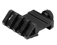Offset Tactical Rail Mount for Sights and Flashlights