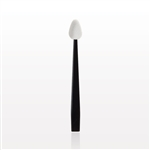 Point Tip Eye Shadow Applicator Black Stem White Tip