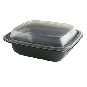 MicroRaves Combo Pack Black Base and Clear Lid