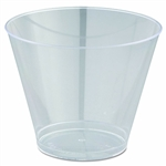 Tall Tumblers Clear Rigid Plastic - 9 oz.