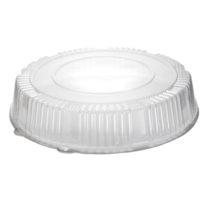 CaterLine Standard Height Round Catering Tray Dome Lid - 16 in.
