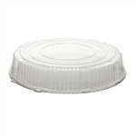 Standard Height Round Catering Tray Dome Lid Clear - 18 in.