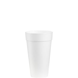 Tall Foam Cup White - 20 Oz.