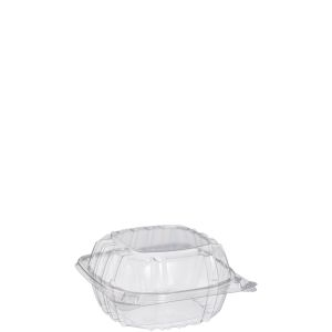 Clearseal Clear Hinged Lid Sandwich Container - 6 in.