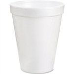White Space Save Foam Cup - 8 oz.