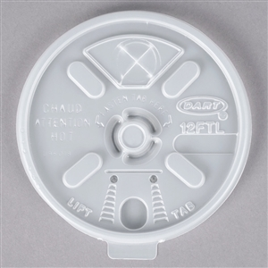Translucent Lift N Lock Straw Slot Plastic Lid