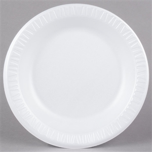 Laminated Quite Classic Plate White - 10.25 in.