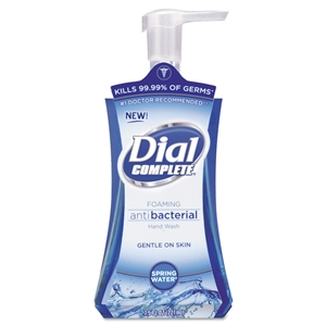 Dial Complete  Antibacterial Foaming Hand Wash Spring Water - 7.5 Oz.