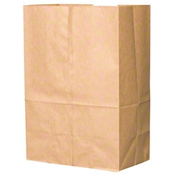 Duroscot Grocery Barrel Sacks Paper Bag Kraft - 12 in. x 7 in. x 17 in.