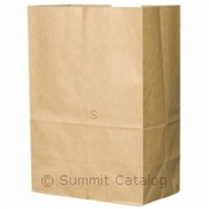 Kraft Shorty Grocery Bags 100 Percent Recycled - 25 Lb.