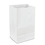 White Grocery Bags 100 Percent Recycled - 16 Lb.