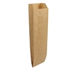 Quart 35 Liquor Bag Kraft Paper - 4.25 in. x 2.5 in. x 16 in.