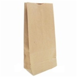 Bulwark Grocery Bag Kraft - 6.13 in. x 4.06 in. x 12.44 in.